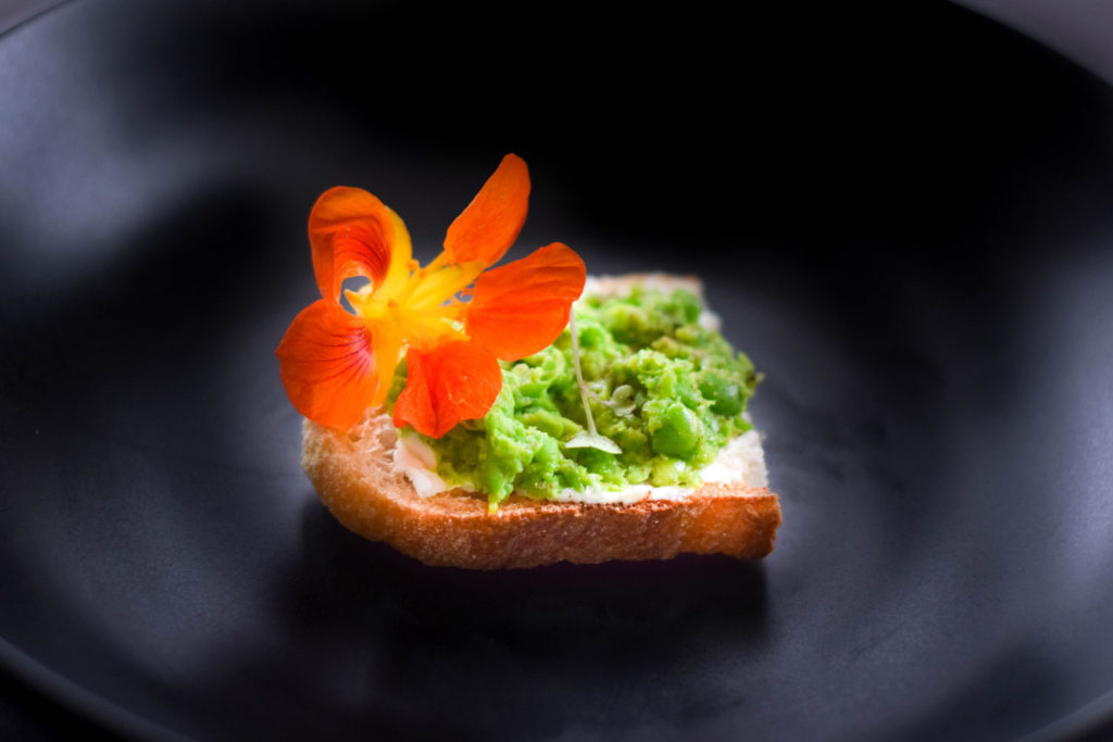 English Pea Tartines - Spring Recipe Inspiration