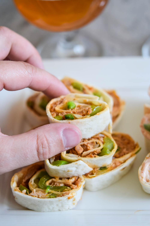 Easy Pinwheel Appetizers