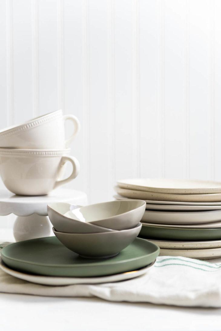 Food Photography Dinnerware portrait
